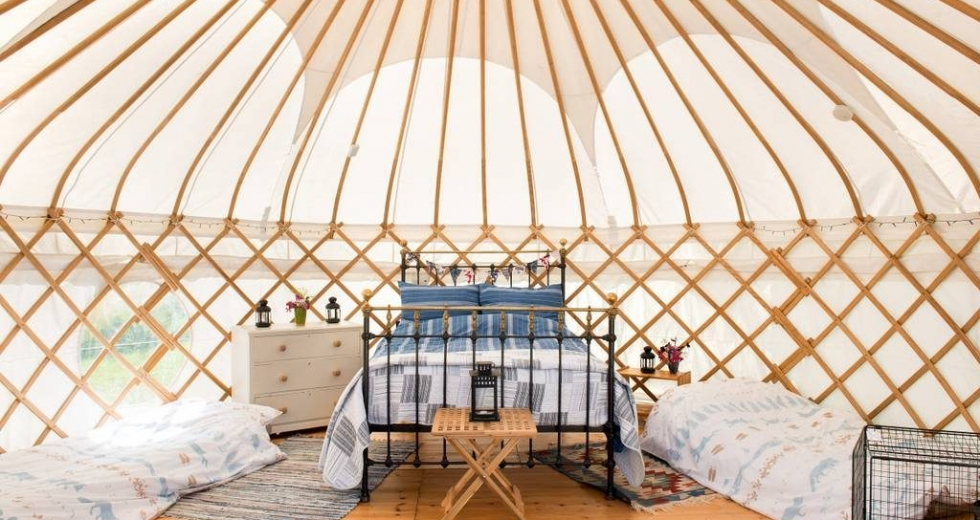 Glamping holidays in Cornwall, South West England - Tremeer Farm